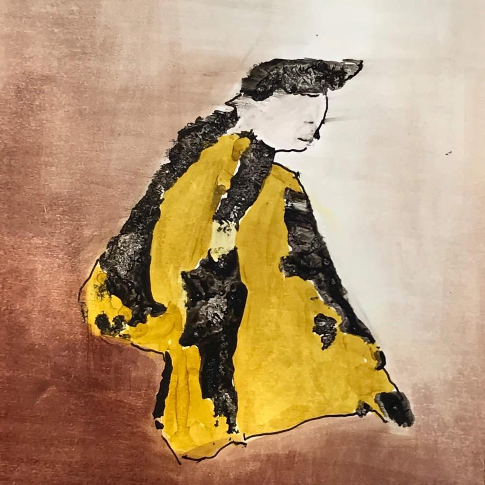 Sisyphe malheureux: dessin de Marie de Point Némo